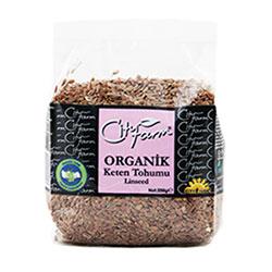 City Farm Organik Keten Tohumu 250gr