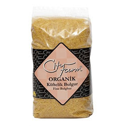City Farm Organik Köftelik Bulgur 1Kg