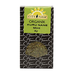 City Farm Organik Kuru Nane 35gr