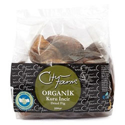 City Farm Organik Naturel İncir 250gr