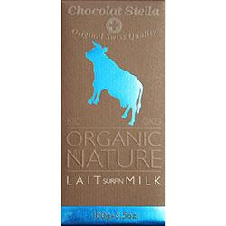 Chocolat Stella Organik Sütlü Çikolata 100gr