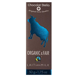 Chocolat Stella Organik Sütlü Çikolata 50gr