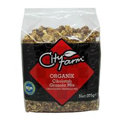 City Farm Organik Çikolatalı Granola 375gr