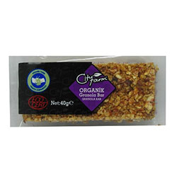 City Farm Organik Granola Bar 40gr