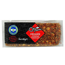 City Farm Organik Çikolatalı Granola Bar 40gr