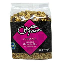 City Farm Organik Fındıklı Granola 375gr
