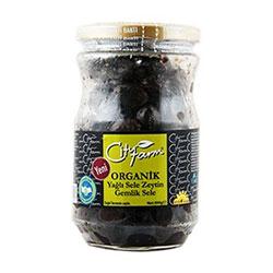 City Farm Organik Siyah Sele Zeytin 390gr