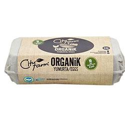 Cityfarm Organik Yumurta  10 adet