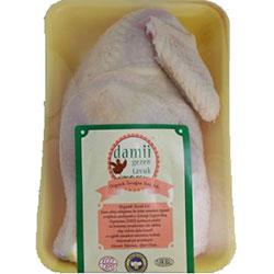 Damii Organik Tavuk (Donuk Yarım) (KG)