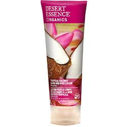 Desert Essence Organik El ve Vücut Losyonu (Hindistan Cevizi) 237ml