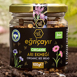 Eğriçayır Organik Perga Arı Ekmeği 100gr