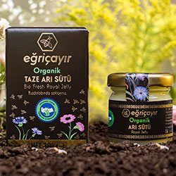 Eğriçayır Organic Fresh Royal Jelly 30g