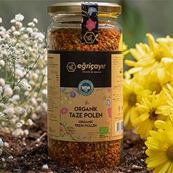 Eğriçayır Organik Yaş  Taze  Polen 320gr
