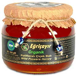 Eğriçayır Organic Wild Flowers Honey 450g