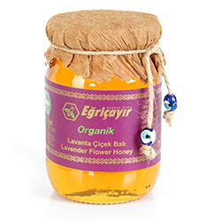 Eğriçayır Organic Lavender Flower Honey 225g