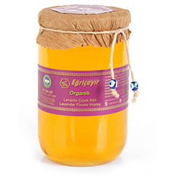 Eğriçayır Organic Lavender Flower Honey 850g