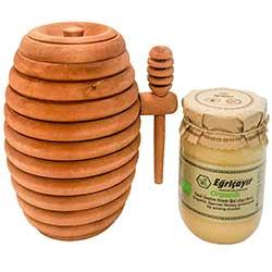 Eğriçayır Organik Özel Üretim Krem Bal (Oğul Balı) 450gr
