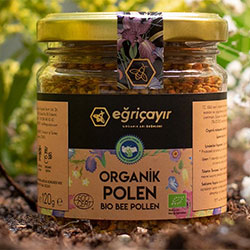 Eğriçayır Organik Polen 120gr