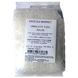 Ekoloji Market Himalaya Tuzu (Beyaz, Tane) 500gr