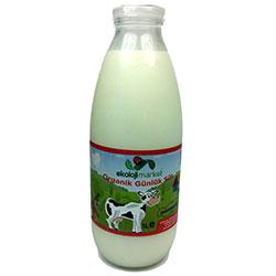 Ekoloji Market Organik Günlük Pastörize İnek Sütü 1L