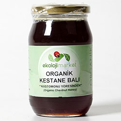 Ekoloji Market Organic Chestnut Flower Honey 450g