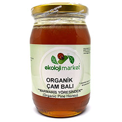 Ekoloji Market Organik Marmaris Çam Balı 450gr