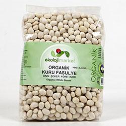 Ekoloji Market Organik Kuru Fasulye  İspir Şeker  800g