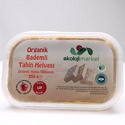 Ekoloji Market Organik Tahin Helvası  Bademli  250g