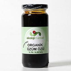 Ekoloji Market Organik Yoğum Kıvam üzüm Pekmezi (Üzüm Özü) 300ml