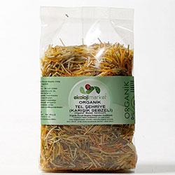 Ekoloji Market Organik Tel Şehriye (Karışık Sebzeli) 250gr