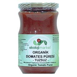 Ekoloji Market Organik Domates Püresi (Tuzsuz) 660gr