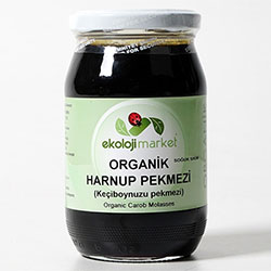 Ekoloji Market Organik Keçiboynuzu (Harnup) Pekmezi 450gr