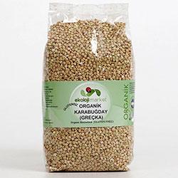 Ekoloji Market Organik Çiğ Karabuğday  Greçka  1Kg