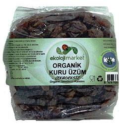 Ekoloji Market Organik Çekirdeksiz Kuru Üzüm 200gr