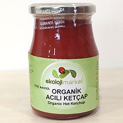 Ekoloji Market Organic Ketchup  HOT  360g