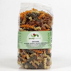 Ekoloji Market Organik Makarna (Sebzeli Burgu) 300gr
