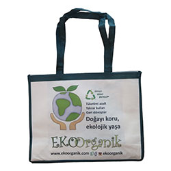 Ekoorganik Bag  Earth Freindly  Recyclable  Large