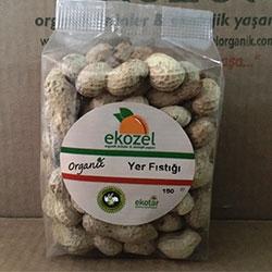 EKOZEL Organik Yer Fıstığı (Kabuklu) 150gr