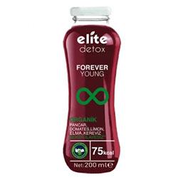 Elite Organik Detoks İçeceği FOREVER YOUNG (Pancar, Domates, Limon, Elma, Kereviz) 200ml