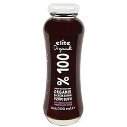 Elite Organik %100 Kalecik Karası Üzüm Suyu 200ml