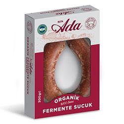 Elta-Ada Organik %100 Dana Fermente Sucuk 300g