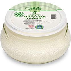 Elta-Ada Organik Yoğurt (Tam Yağlı) 700gr Cam Kase