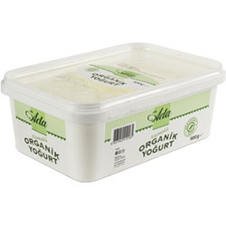 Elta-Ada Organic Yoghurt  Full Fat  With Cream  900g