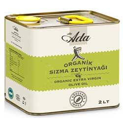 Elta-Ada Organik Sızma Zeytinyağı 2L (teneke)