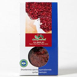 Ekoloji Market Organik Kırmızı Pul Biber  Acı  50gr