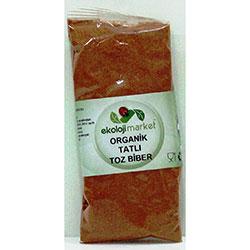 Ekoloji Market Organik Kırmızı Toz Biber (Tatlı) 50gr
