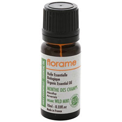 Florame Organic Peppermint Essential Oil  Mentha Piperita  10ml