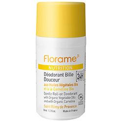 Florame Organic Nutrition Gentle Roll-On Deodorant 100ml
