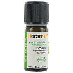 Florame Organic Patchouli Essential Oil  Pogostemon Cablin  10ml