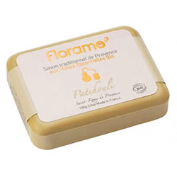 Florame Organic Traditional Soap  Patchouli  100g